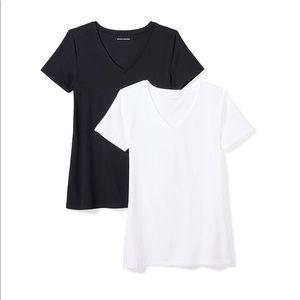 Tops - Women's 2-Pack ShortSleeve V-Neck T-Shirt